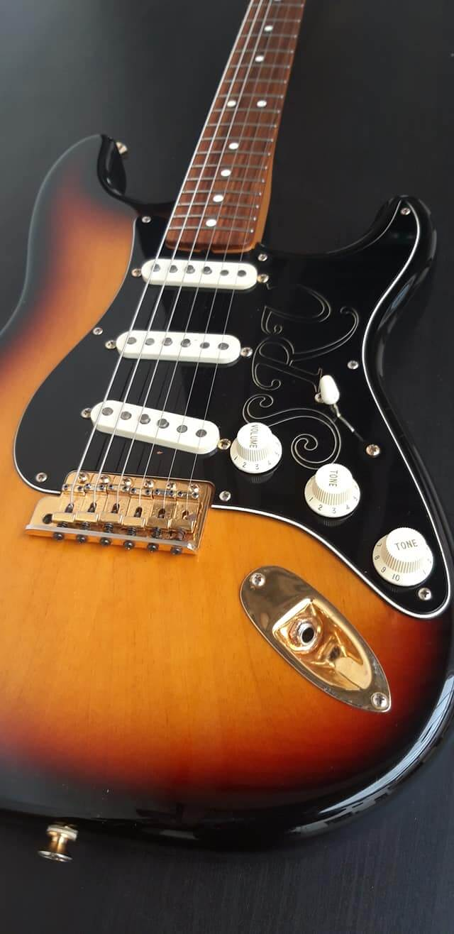 Fender SRV signature, 50 anniversary